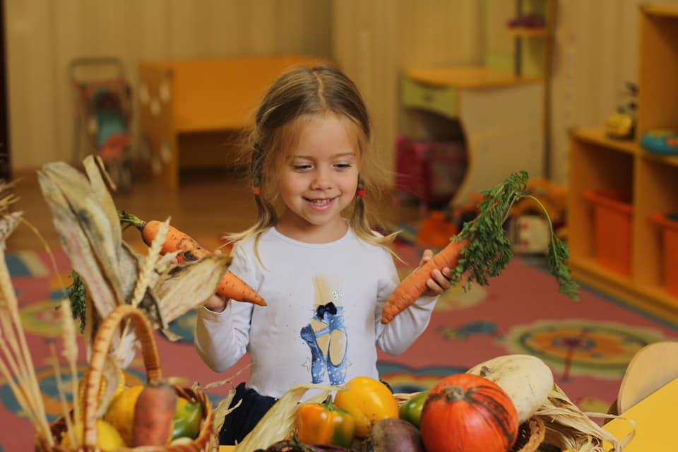 Правильное питание в детском саду