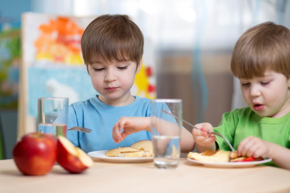 Правильне харчування в дитячому садку