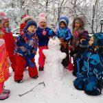 Зимові ігри на вулиці для дітей